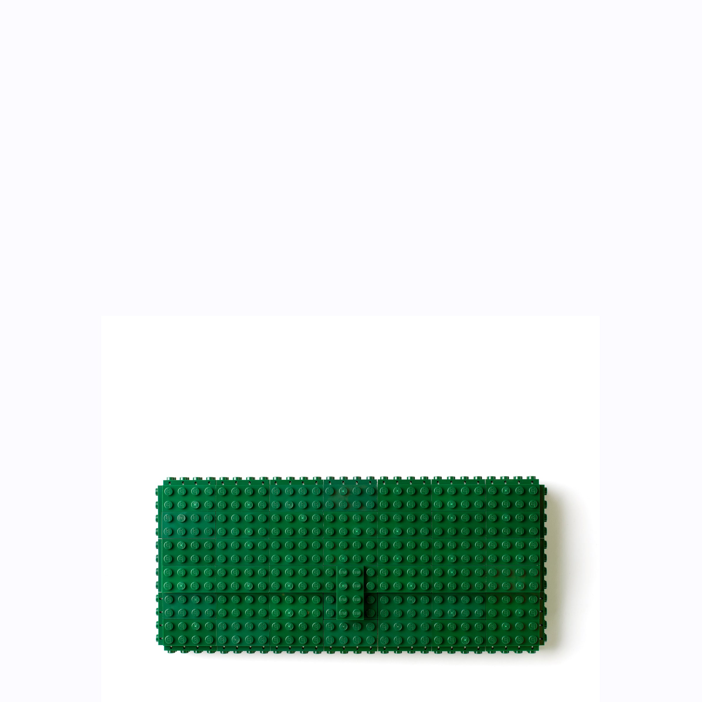 Dark green clutch