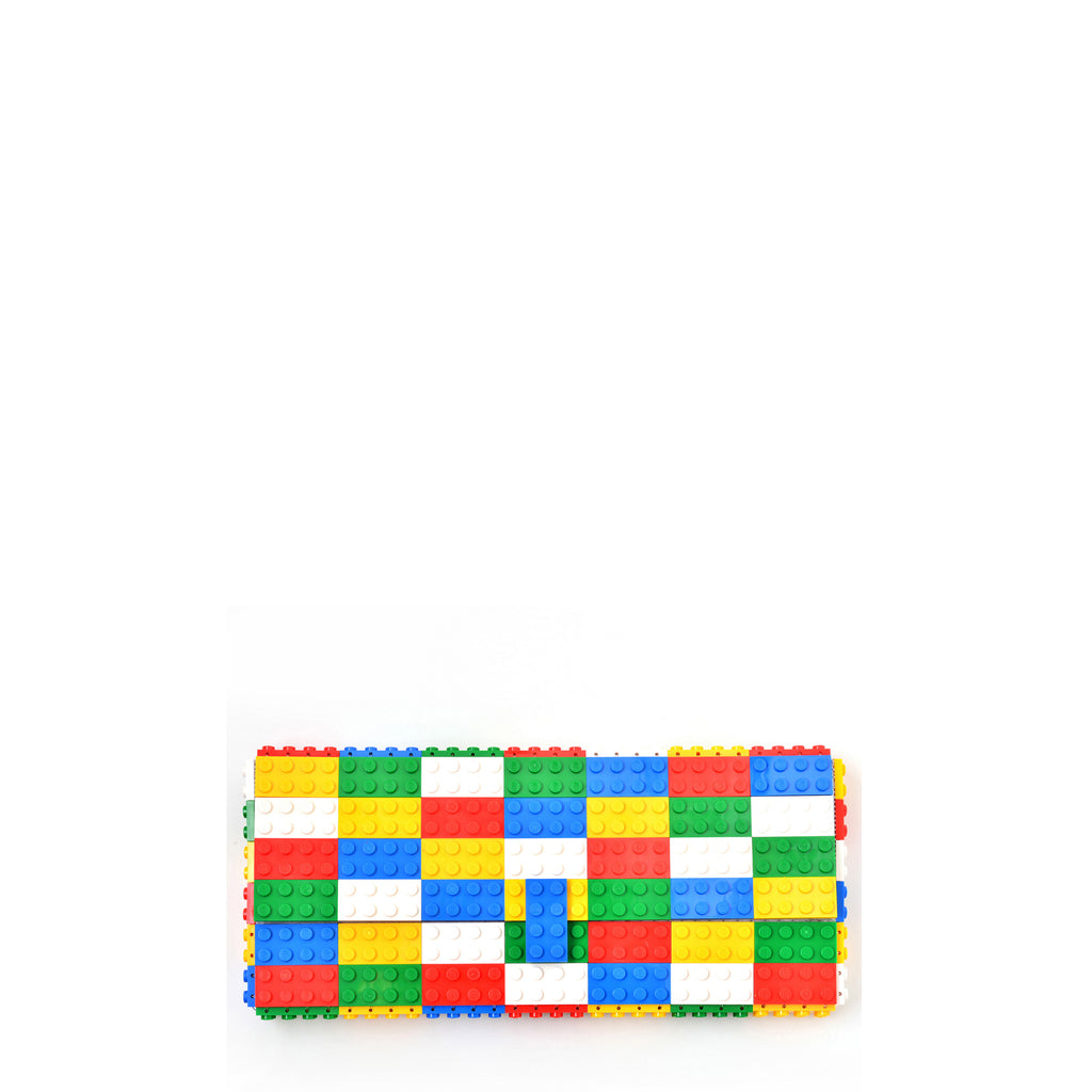 Multicolor basic colors clutch