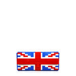 UK flag clutch