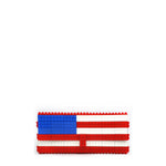 US flag clutch