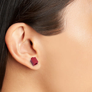 dark red brick studs