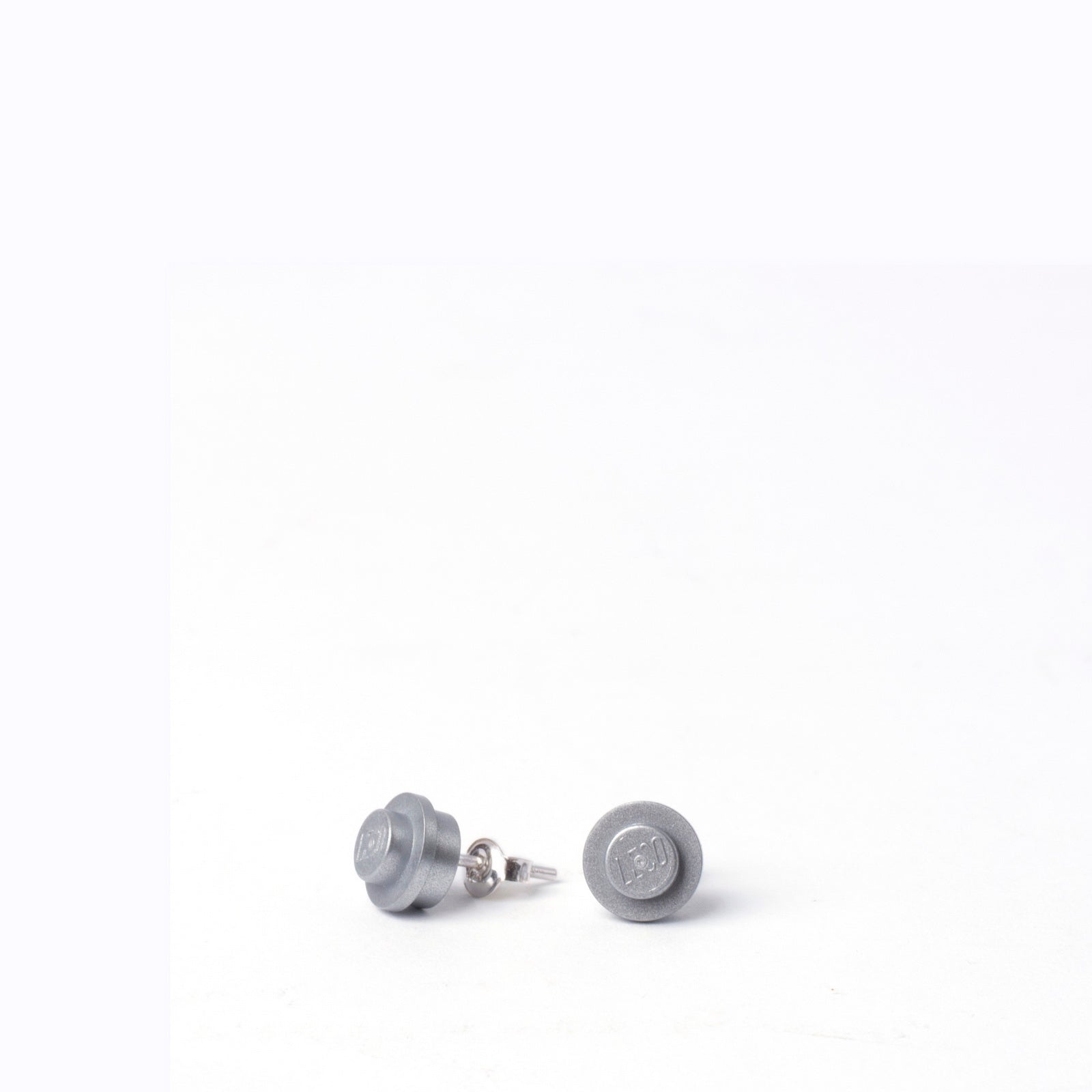 silver small round studs