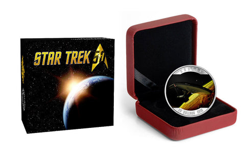2016 1 oz Silver Star Trek™: Enterprise Coin