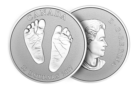 2017 1/2 oz Silver Coin Welcome to the World .9999