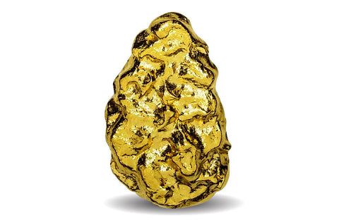 10 g Gold Nugget Pendant .9999