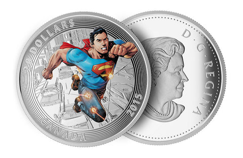2015 1 oz Silver Superman: Action Comics #1 (2011) Coin
