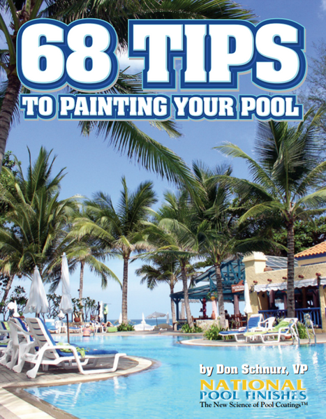 68 Tips to Painting your Pool