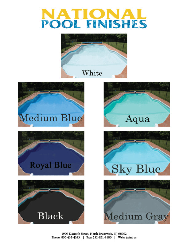 Pool Paints | Huge Selection of Swimming Pool Paint Colors | ipaint.us