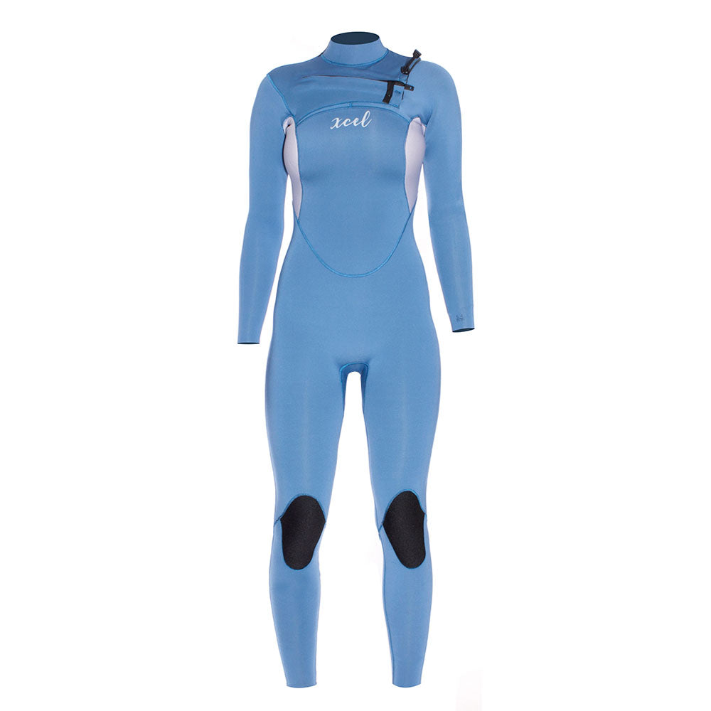 3f05a67a9ed TRAJE DE NEOPRENO MUJER XCEL COMP 5   4 MM CHEST ZIP – Liquido Surf