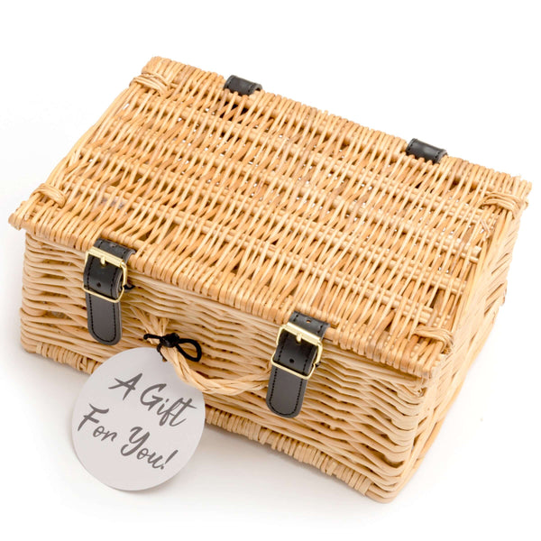 "M&H 10"" Wicker Hamper"