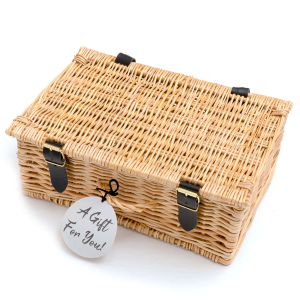 "M&H 12"" Wicker Hamper"