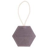 Antiqued Mauve Leather Doggy Bag Dispenser