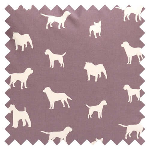 Antiqued Plum Fabric Sample