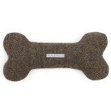 Heritage Tweed Squeaky Bone Dog Toy