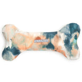Watercolour Squeaky Bone Dog Toy
