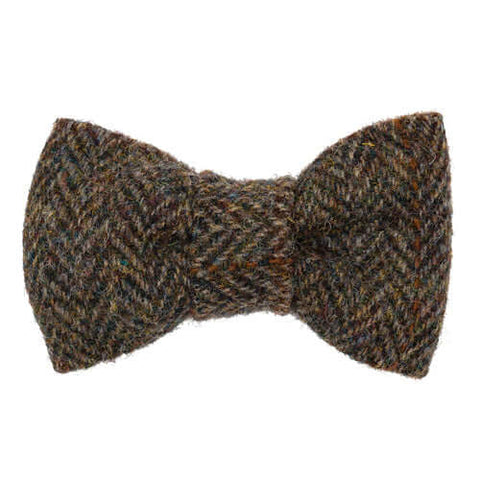 Heritage Tweed Dog Bow Tie