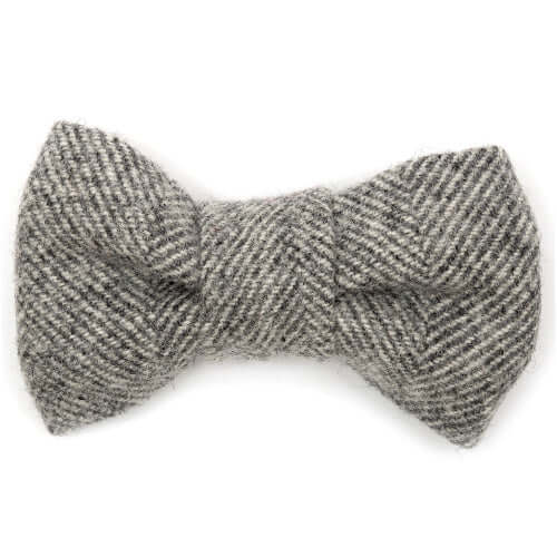 Stoneham Tweed Dog Bow Tie