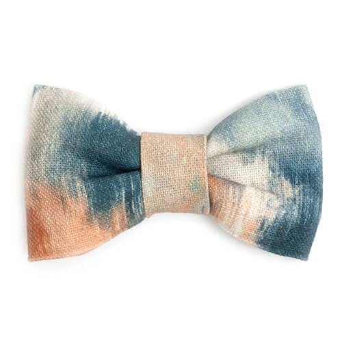 Watercolour Dog Bow Tie