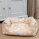 M&H Biscuit Boxy Dog Bed