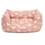 M&H Old Rose Boxy Dog Bed