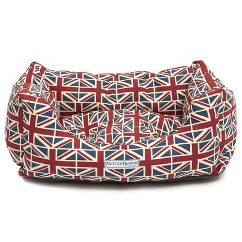 Union Jack Boxy Dog Bed