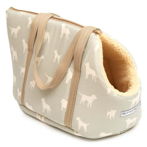 M&H Powder Blue Dog Carrier