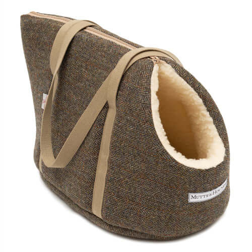 Heritage Tweed Dog Carrier