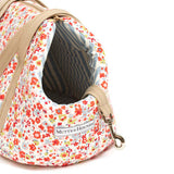 Posie Cotton & Chambray Stripe Lining Dog Carrier