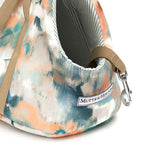 Watercolour & Mineral Stripe Dog Carrier