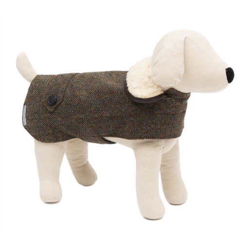 Heritage Tweed Dog Coat