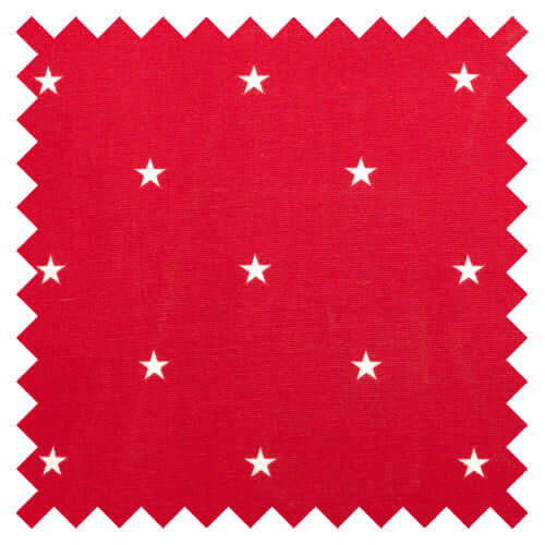 Cranberry Stars Fabric Sample