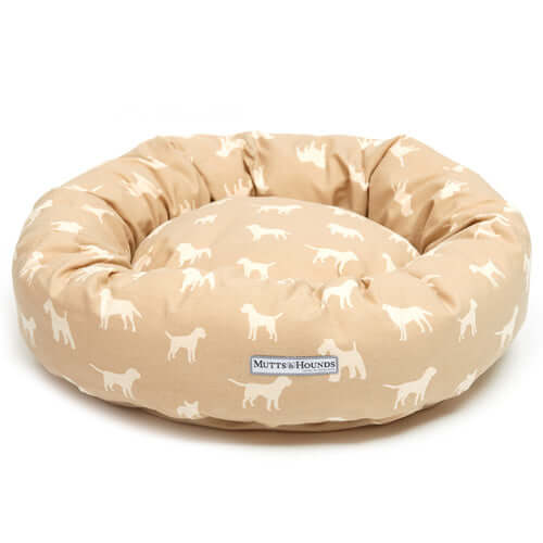 M&H Biscuit Donut Dog Bed