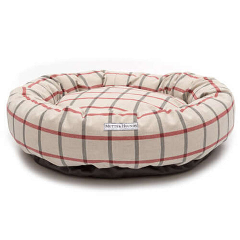 Nottingham Check Donut Bed