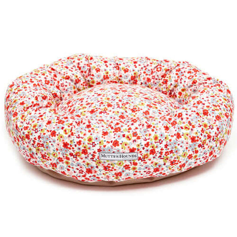 Posie Cotton Donut Dog Bed