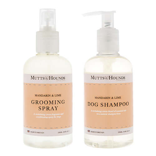 Mandarin & Lime Dog Shampoo & Grooming Spray