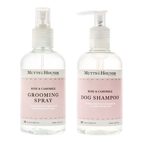 Rose & Camomile Dog Shampoo & Grooming Spray