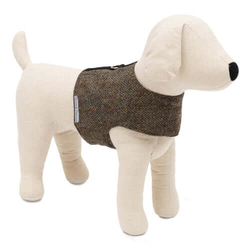 Heritage Tweed Soft Dog Harness