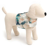 Watercolour Soft Dog Harness with Pom Poms