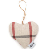 Nottingham Check Lavender Heart