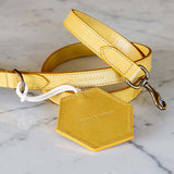 Mustard Leather Doggy Bag Dispenser