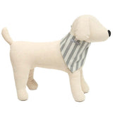 Flint Stripe Brushed Cotton Dog Neckerchief