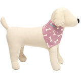M&H Heather Bone Dog Neckerchief