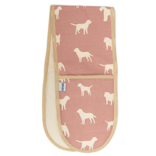 M&H Old Rose Oven Gloves