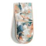 Watercolour & Mineral Stripe Oven Gloves