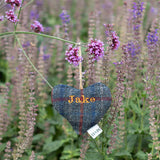 Personalised Lavender Hearts