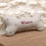 Personalised Squeaky Bone Dog Toys