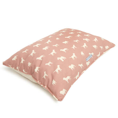 M&H Old Rose Pillow Dog Bed