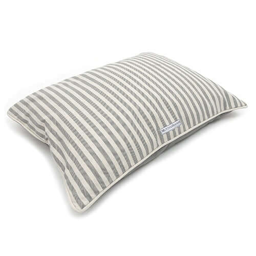 Flint Stripe Brushed Cotton Pillow Bed