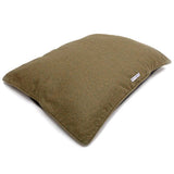 Forest Green Tweed Pillow Dog Bed