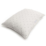 Grey Stars & Charcoal Stripe Pillow Dog Bed